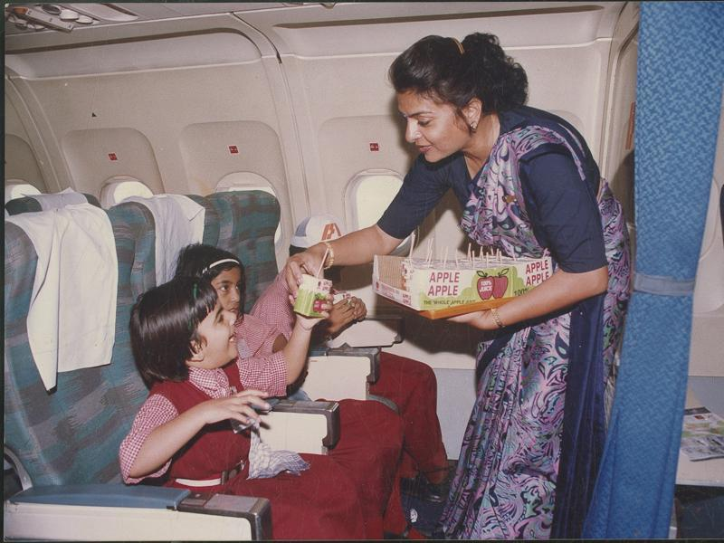 Indian Airlines also ran special planes. (HT Archives)