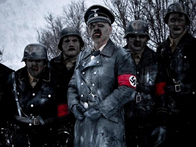 Norway: Dead Snow (2009) gave us what most zombie fans could only dream about. Yes, your eyes don't deceive you. What you see above are indeed Nazi zombies.