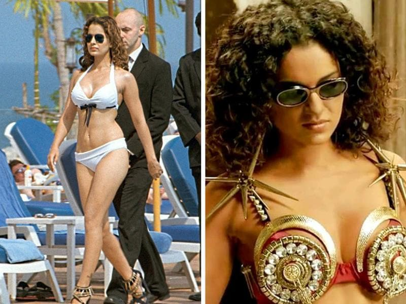 Kangana Ranaut brings her own whimsy to every film she does and every outfit she wears.