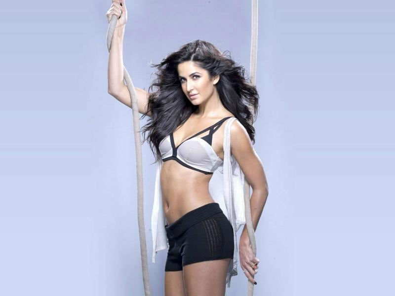 Katrina Kaif wore a bikini in Dhoom 3.