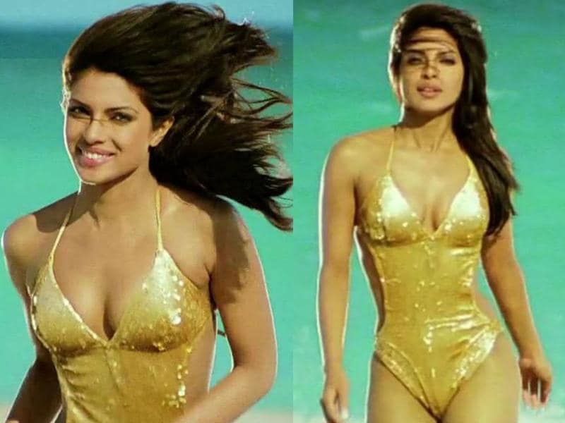 But before we do that, we bring you the money shot from Dostana and the beautiful Priyanka Chopra.