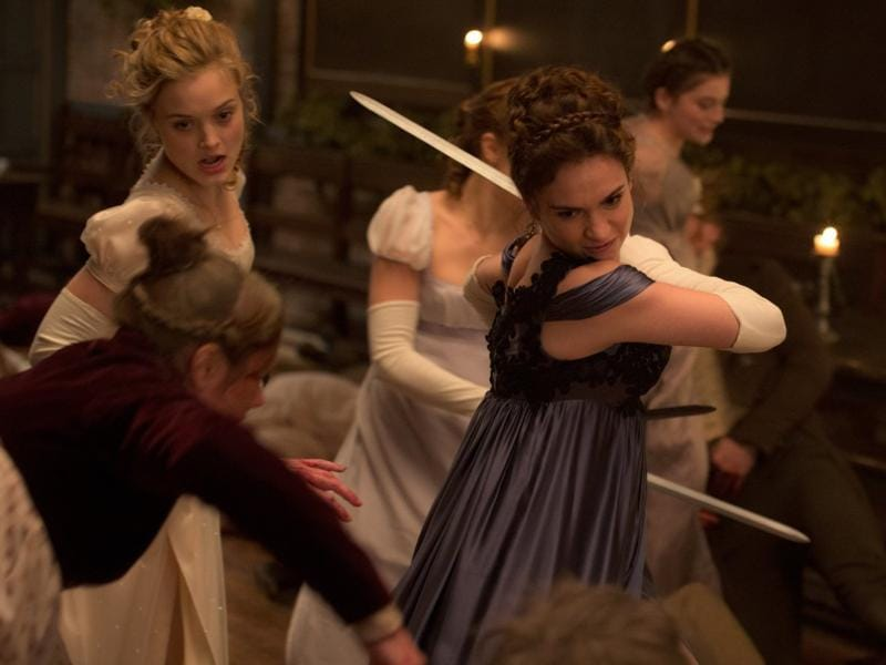 Two zombie movies will hit the theatres this week and one of them is Pride and Prejudice and Zombies. (Twitter)