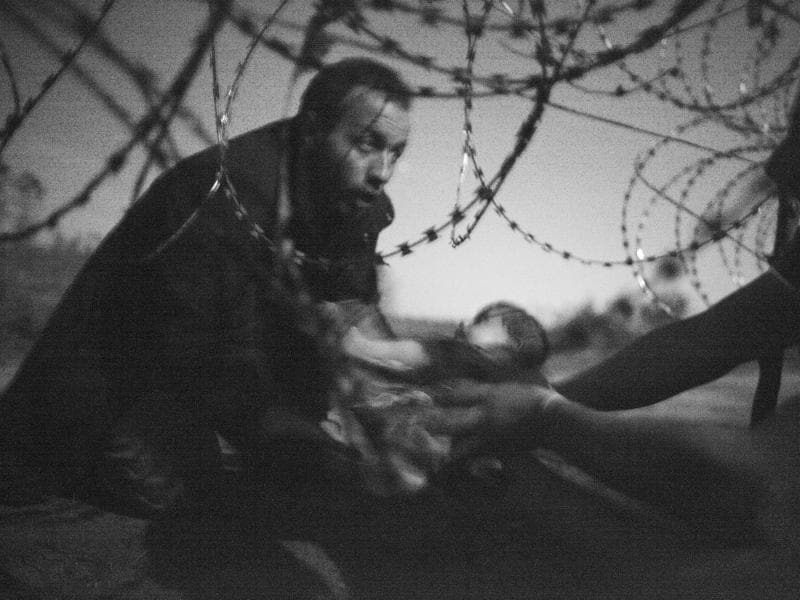 The World Press Photo of the Year titled