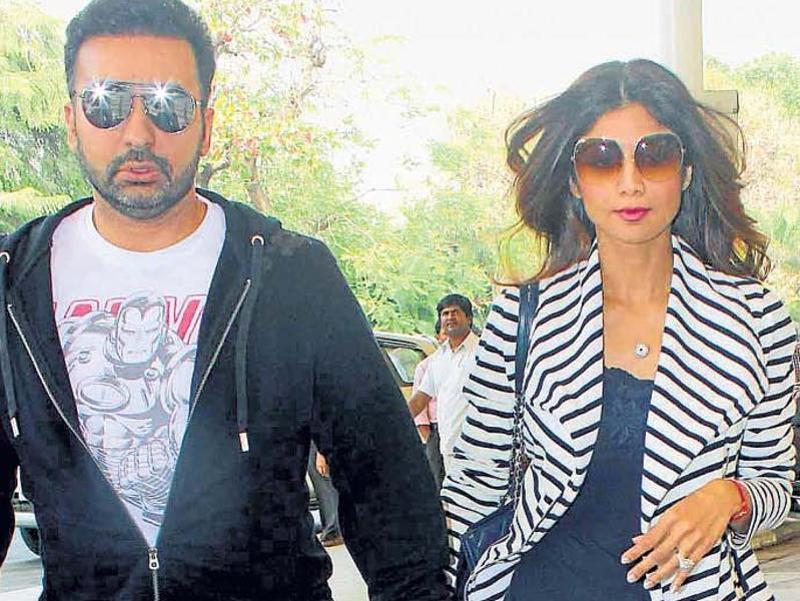 Raj Kundra and Shilpa Shetty make for a power couple in showbiz. (Yogen Shah)