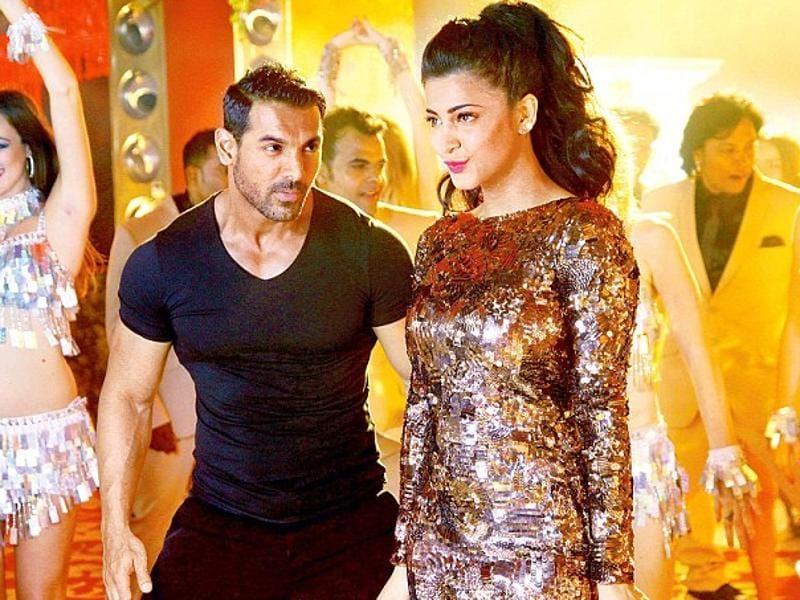 Shruti Haasan has been doing films for a long time. However, she is yet to establish herself as a star in Bollywood.  She was last seen opposite John Abraham in Welcome Back (2015) and has been paired with Abraham again for Rocky Handsome.