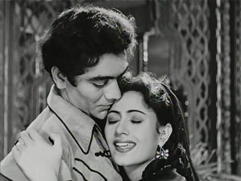 Madhubala was also seen in Amiya Chakravarty's Badal (1951) which was a box office hit. (Youtube grab)
