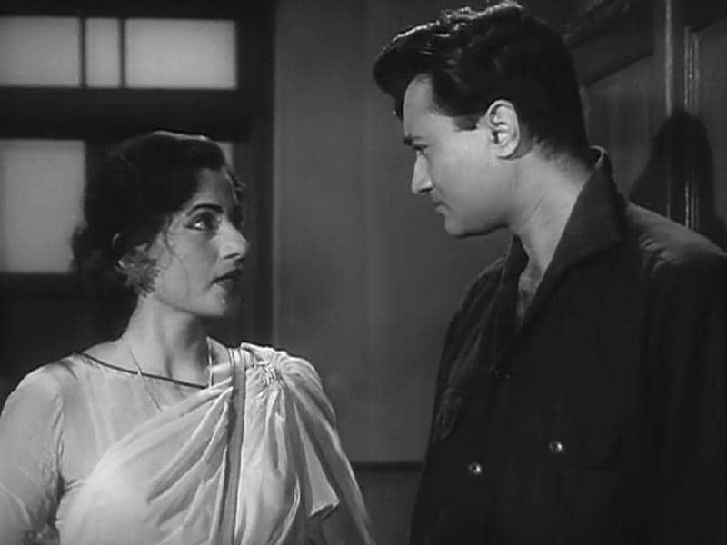 Madhubala also worked with Dev Anand in Kaala Paani (1958) which was directed by Raj Khosla.  (Youtube grab)