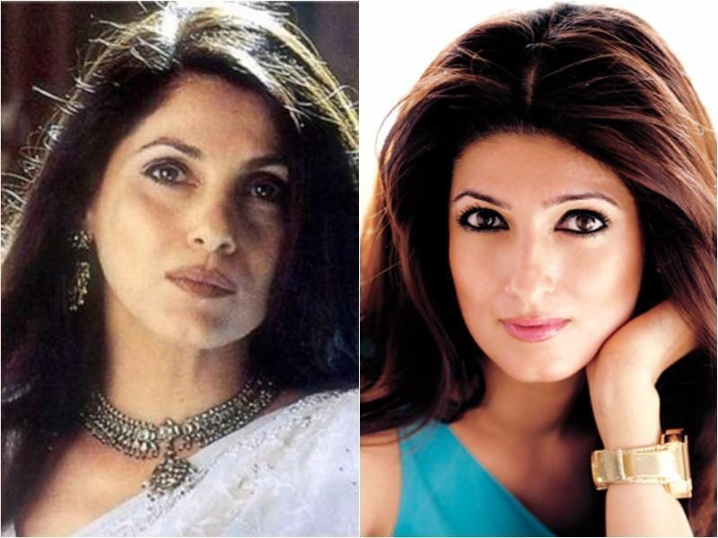 The apple really didn't fall far from the tree for these celebrity offspring. See which famous people have found a twin in their (lookalike) children: Starting with Dimple Kapadia and her daughter Twinkle Khanna. (Agencies)