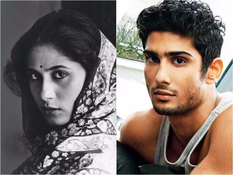 Late Bollywood actor Smita Patil and Prateik Babbar, her son with  actor-turned-politician Raj Babbar.