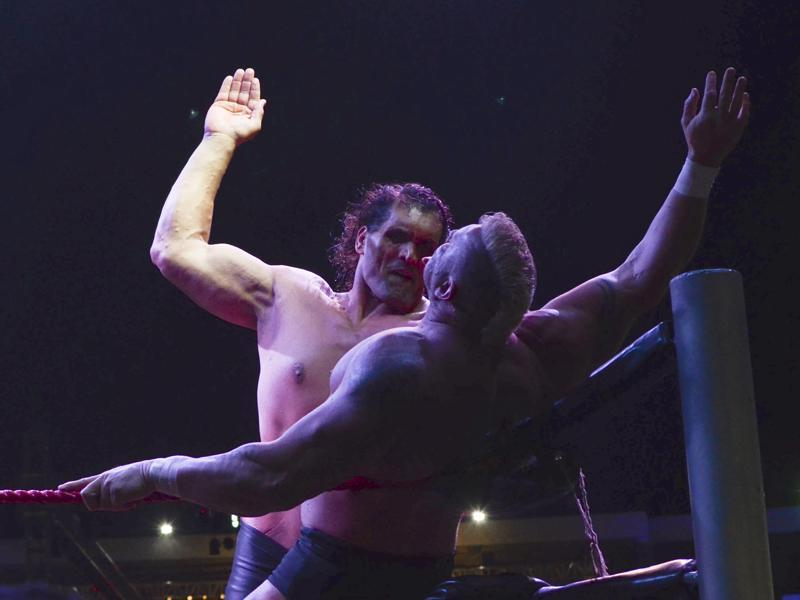 Born in a Punjabi Rajput family in Dhiraina, Himachal Pradesh, Khali was an officer with the Punjab state police before he became a professional wrestler. (Rohit Umrao / HT Photo)