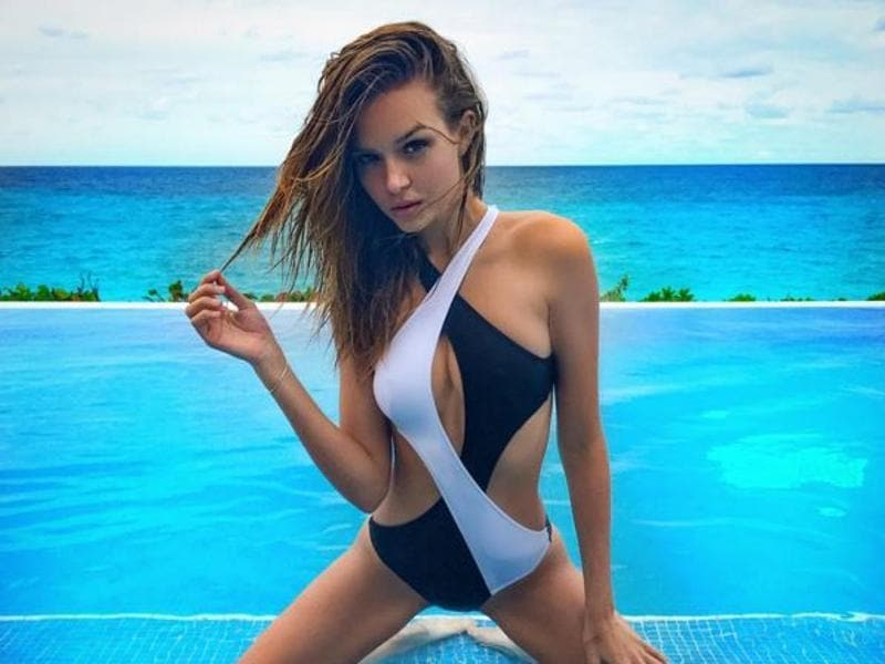 Josephine Skriver was plunged into the world of modelling from a young age, starring in several ad campaigns when she could barely walk thanks to an aunt who worked in the industry.  (Instagram)
