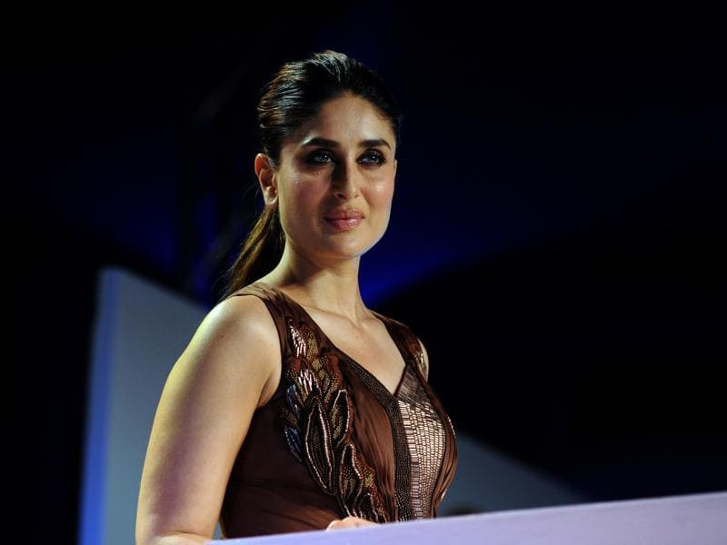 Kareena Kapoor Khan attends a promotional event in Mumbai on February 25, 2016. (AFP)