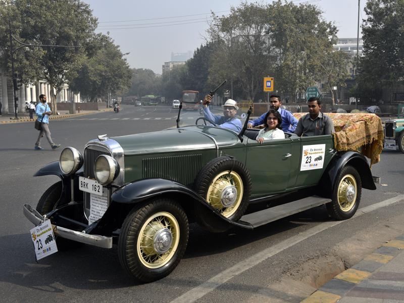 Petrolheads Of A Different Kind Delhi S Vintage Car Rally Delhi