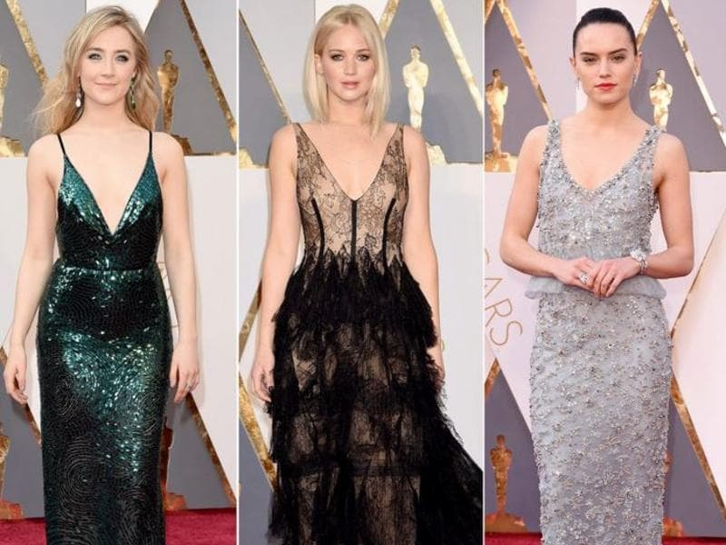 Here's how all the important stars looked at the Oscars Red Carpet this morning. (Agencies)
