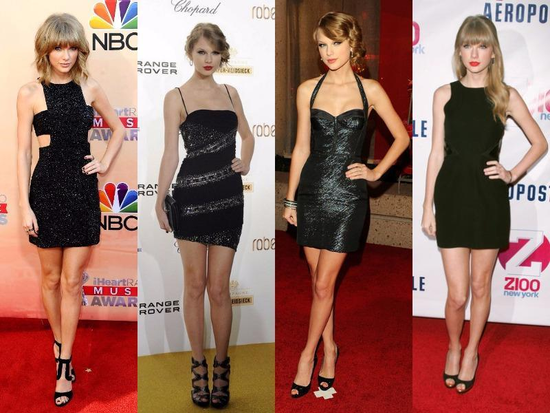 Taylor Swift: Her collection of LBD is huge we guess. Out of all her LBDs we have picked her LBDs which we love most. From the shimmery lace to chic lycra, Taylor keeps reminding us that after all she is just a young girl!