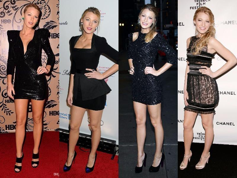 Blake Lively: We thought I would end with a bang! Hence kept her for the last. Being a Gossip Girl star holds special importance. And with her LBD she has redefined hotness, every single time!