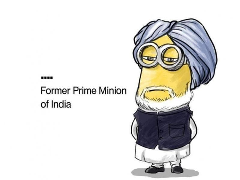 Scrolldroll.com created these Minion versions of Indian politicians, and they are on point! They are cute, they are funny and yep- they work! (Twitter)