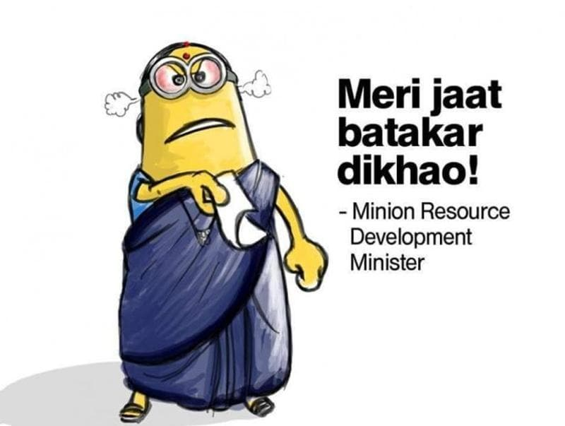 If you like humorous Minions pictures or you like humorous pictures of politicians, or you just happen to like  anything in between, you will love this one!  (Twitter)