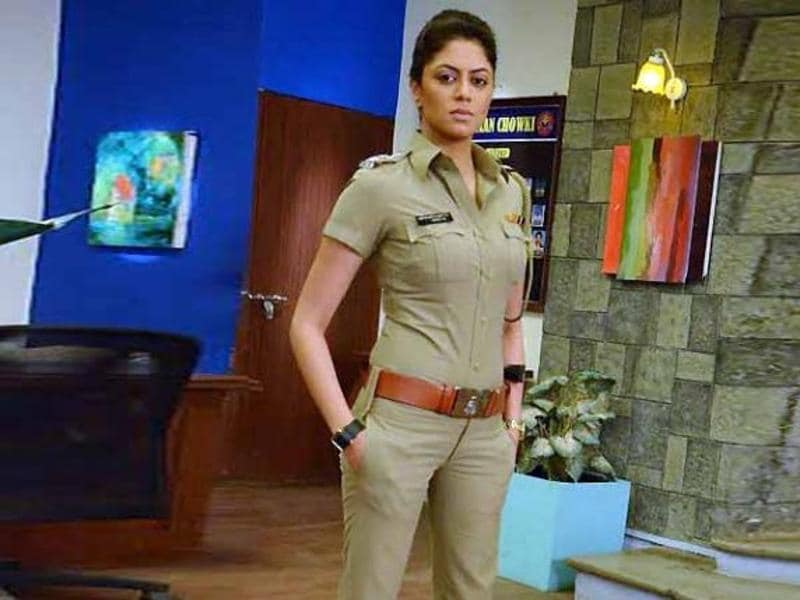 Chandramukhi Chautala in TV show FIR is a cop who can play it as well as men, if not better.