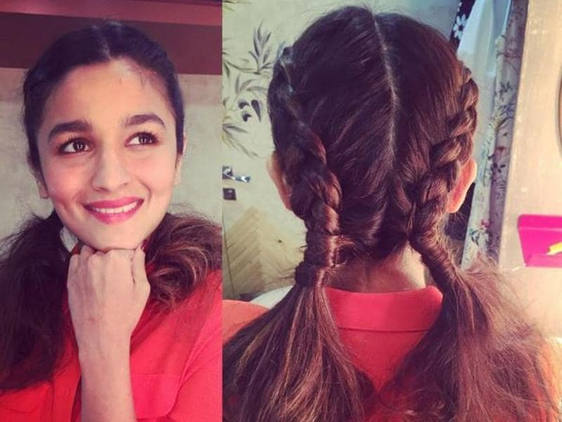 Bollywood actor Alia Bhatt is having fun flaunting cute braiding hairstyles at various outings of late. There's no reason why you shouldn't too. (Aliaabhatt/Instagram)