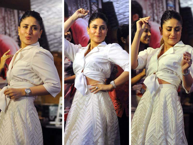 At a recent Ki and Ka lunch event in Mumbai, fun and masala omelette were on menu. Kareena Kapoor Khan had all the fun with a mix of salsa and Bollywood dance moves ...  (AFP)