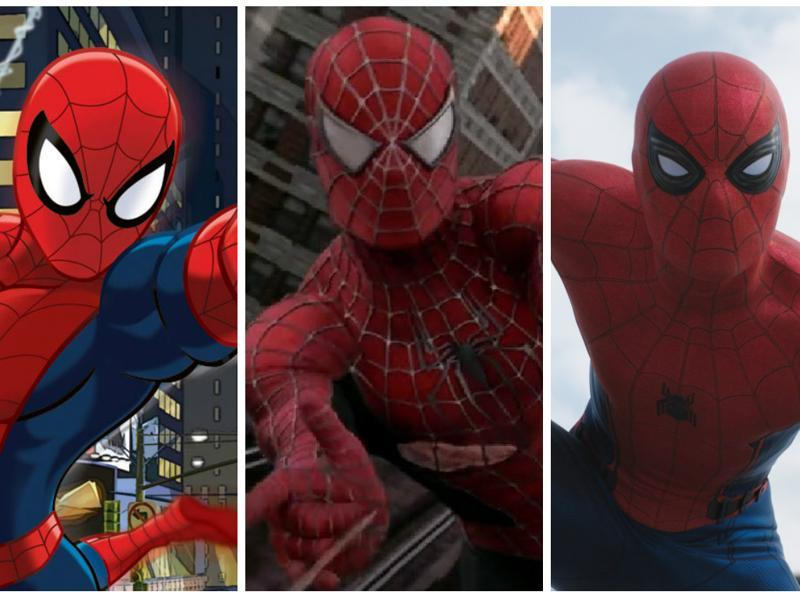 We just got our first look at Tom Holland's new Spider-Man and it made us want to dig up pictures of all our favourite versions of the wall crawler.
