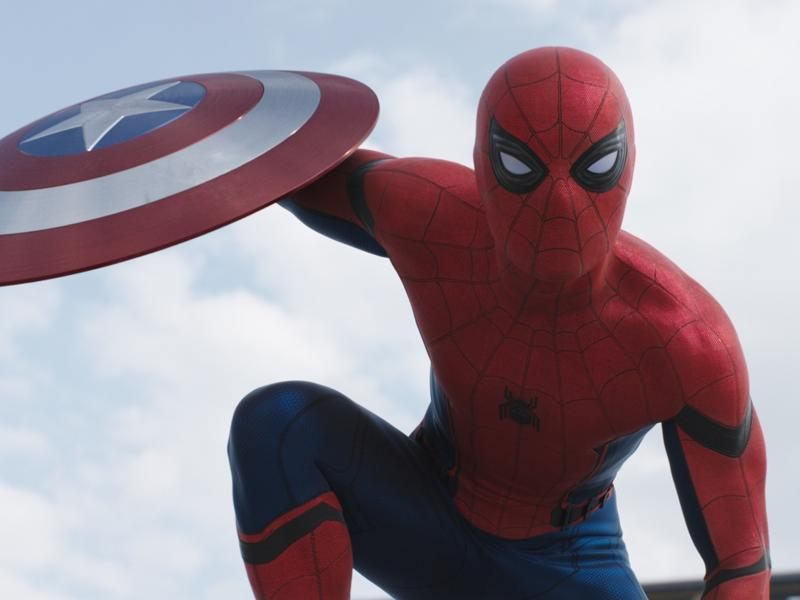 But no worries! Here's Tom Holland in Captain America: Civil War to cure all your Spidey withdrawals.