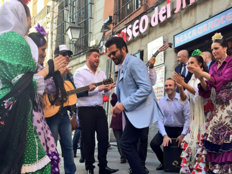 Anil Kapoor shakes a leg in San Miguel.