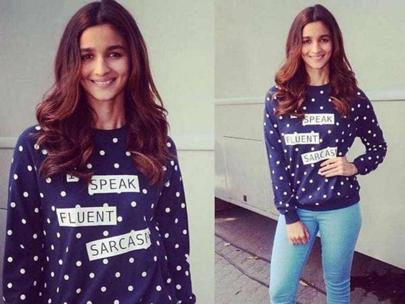 It's no wonder, for that reason alone, why Alia is considered the queen of social media.  (Instagram)