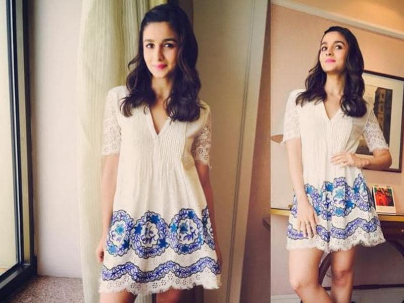 We love all the fashion posts that keep appearing on Alia's Instagram.  (Instagram)
