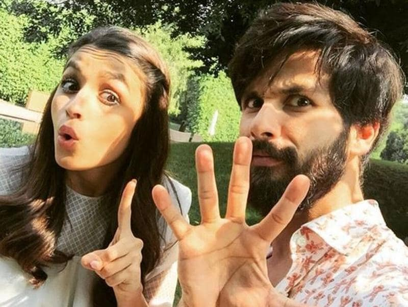 Again, Alia is one poser. And so is Shahid. But who's complaining? (Instagram)