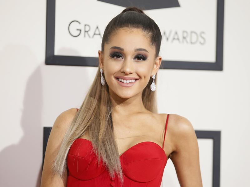 Grande oops ariana Ariana Grande