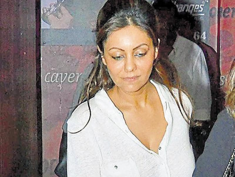 Gauri Khan was spotted at the screening of a film in Mumbai. (Yogen Shah)
