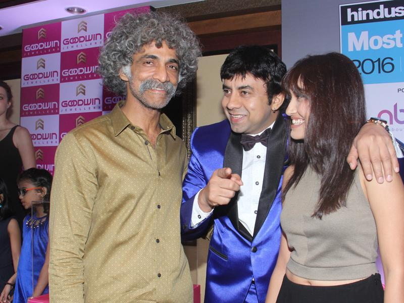 Makarand Deshpande poses for the camera during Hindustan Times Most Stylish Awards 2016. (Pramod Thakur/HT Photo)