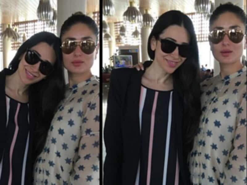 Karisma and Kareena's sister act just gets better with every picture.