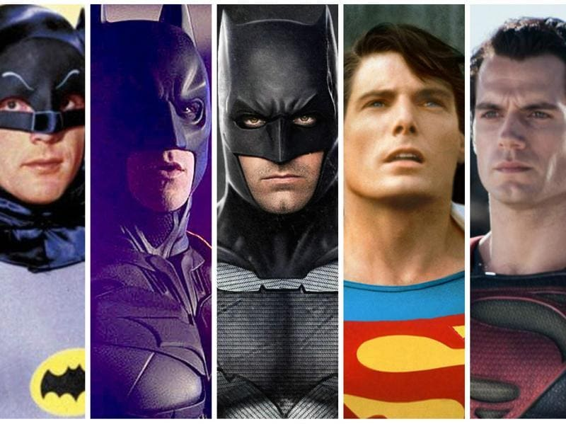 Batman v Superman is here! So let's look back on all our favourite (and not so favourite) iterations of the Man of Steel and The Dark Knight.