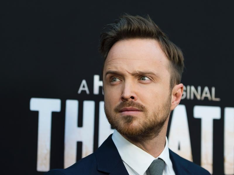 Breaking Bad star Aaron Paul attends the premiere of Hulu Original The Path, in Hollywood, California. (AFP)