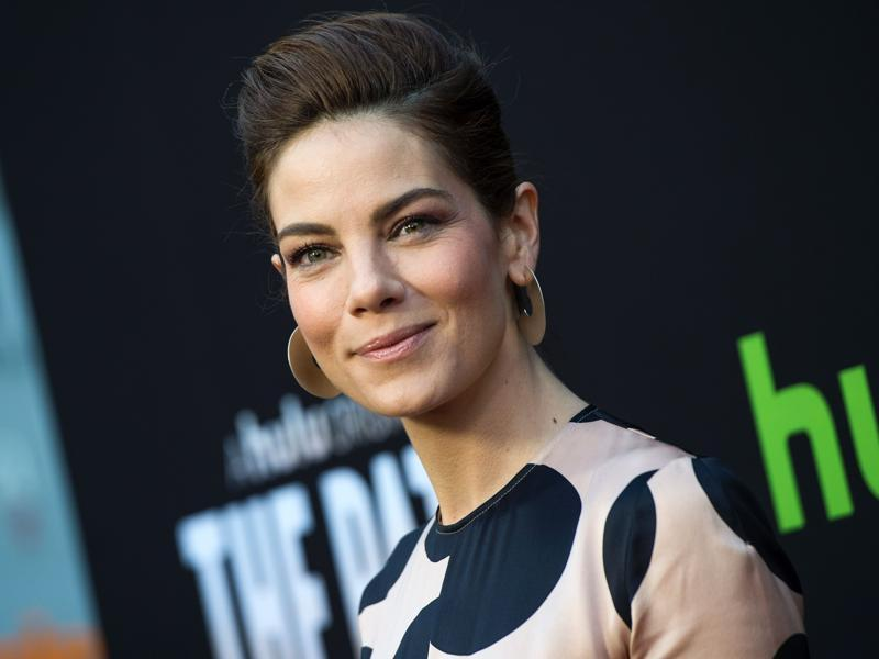 True Detective actor Michelle Monaghan arrives at the premiere of Hulu Original The Path, in Hollywood, California. (AFP)