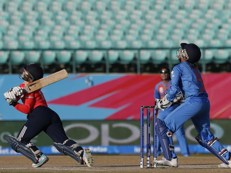England's Tamsin Beaumont skied shot led to her dismissal. (AP)