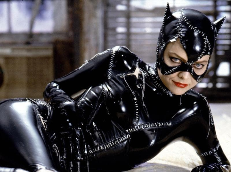 Michelle Pfeiffer's portrayal of Catwoman stole the show in Batman Returns. Her Catwoman was  sultry, sneaky and so vicious.