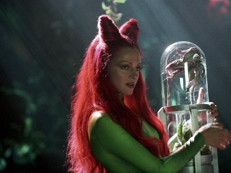 The only good thing about Batman Forever is Uma Thurman's scarily good performance as Poison Ivy.