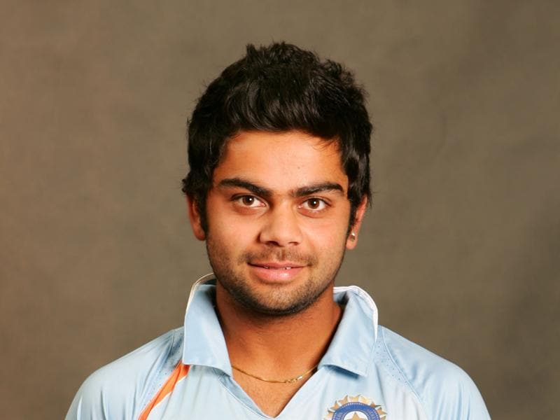 In Pics Indian Star Batsman Virat Kohli Through The Years