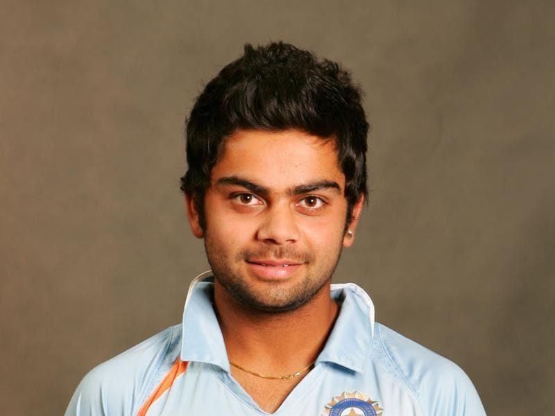 In Pics Indian Star Batsman Virat Kohli Through The Years