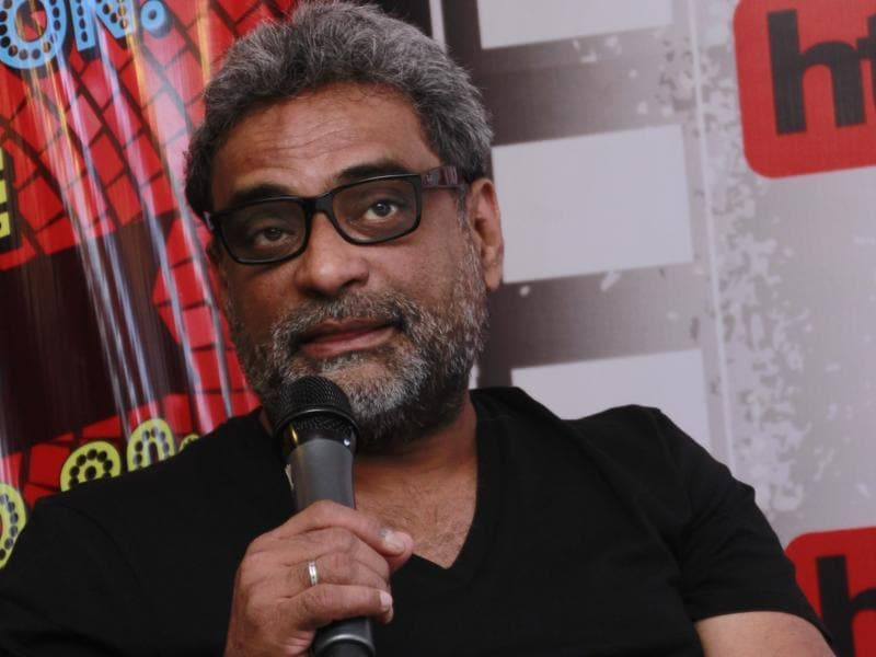 Director R Balki was also present with the cast. (Shivam Saxena/HT PHotos)