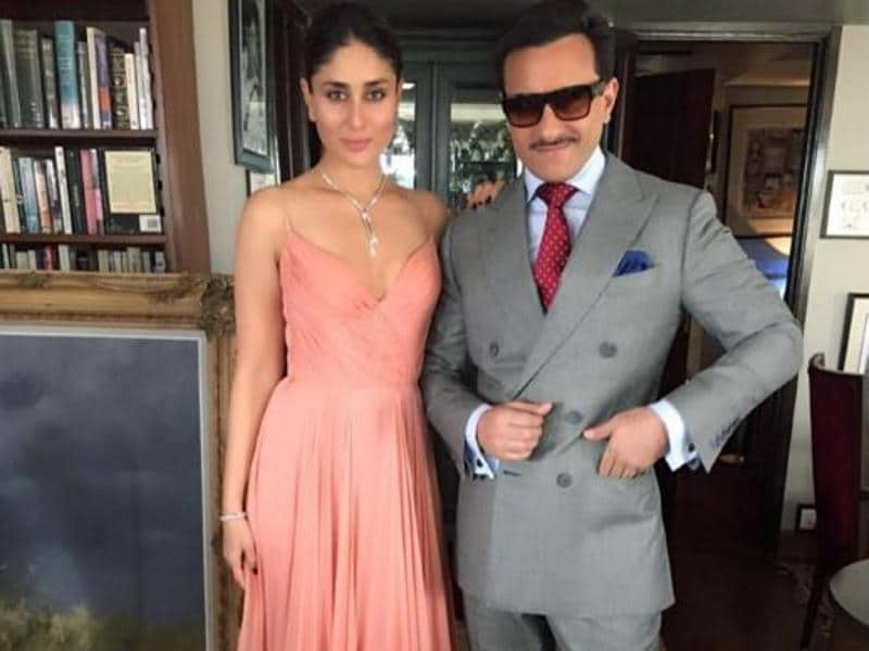 Her best accessory is of course her Nawab! Saif Ali Khan is always more than happy to pose with his pretty wife. (Instagram)