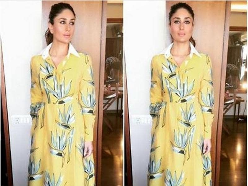 Ponytails are the new fad. Kareena is endorsing it and we have decided to take her word for it. (Instagram)