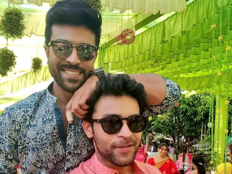 Actors all... Ram Charan with his cousin brother Varun Tej, also an actor. (IAmVarunTej/Facebook)
