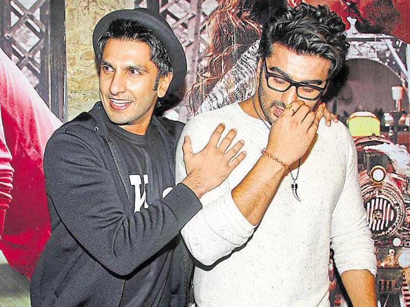Ranveer Singh and Arjun Kapoor have worked together in Gunday. (Photo: Yogen Shah)