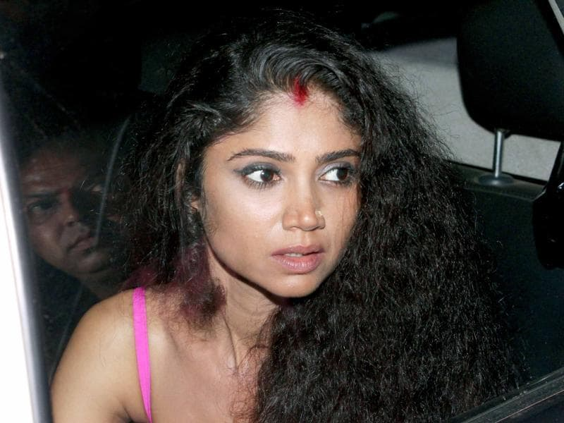 TV actor Ratan Rajput at the hospital. She too participated in Bigg Boss 7 with Pratyusha. (HT Photo/Yogen Shah)