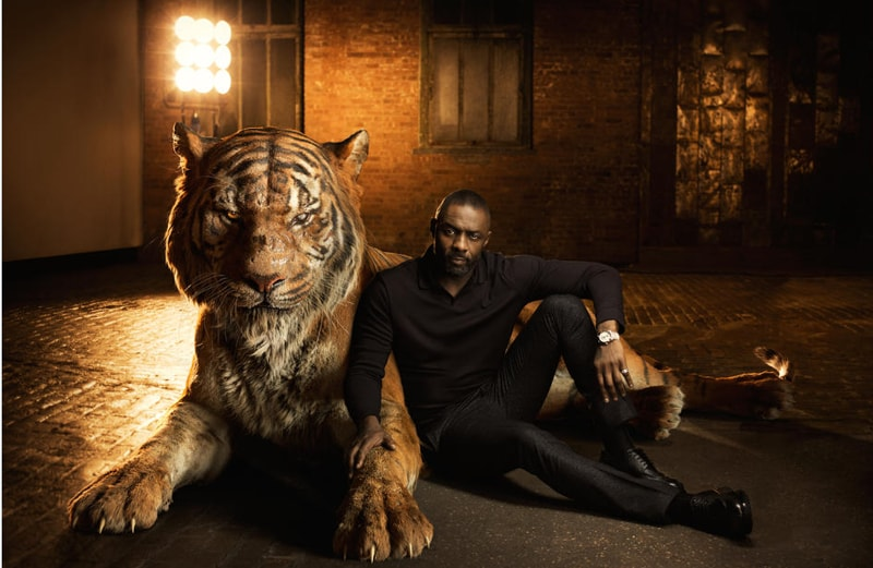 "Shere Khan is the Bengal tiger is determined to rid the jungle of the man-cub Mowgli. ""Shere Khan reigns with fear,"" says Elba. ""He terrorises everyone he encounters because he comes from a place of fear."" (Disney)"